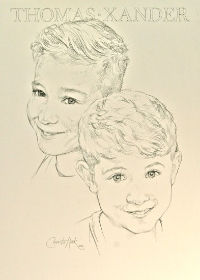 Thomas and Xander